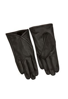 OBJECT Hannah L Gloves Black Bubbleroom.se