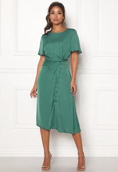 OBJECT Jeanett S/S Dress Blue Spruce Bubbleroom.se