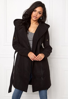 OBJECT Jolie Coat Black Bubbleroom.fi