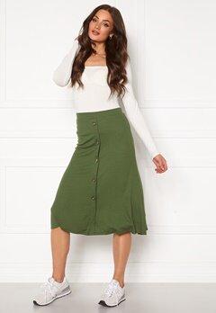 OBJECT Kay Maxi Skirt Burnt Olive Bubbleroom.se