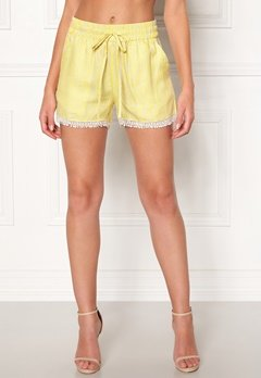 OBJECT Lemony Alena Shorts Neon Yellow Bubbleroom.se