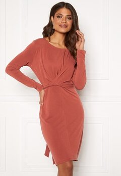OBJECT Lisa LS Dress Tandoori Spice Bubbleroom.se