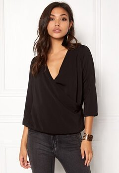 OBJECT Loha 3/4 Top Black Bubbleroom.fi