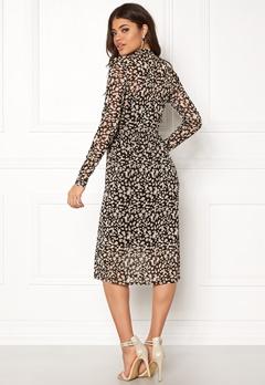 OBJECT Mariann L/S Long Dress Black Bubbleroom.dk