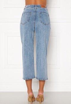 OBJECT Marina MW New Denim Jeans Light Blue Denim Bubbleroom.se