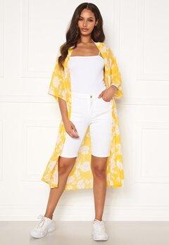 OBJECT Marina MW Twill Shorts Gardenia Bubbleroom.se