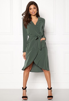 OBJECT Nell L/S Long Dress Urban Chic Bubbleroom.dk