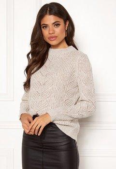 OBJECT Nova Stella L/S Knit Humus Bubbleroom.se