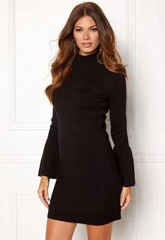OBJECT OBJCarin L/S Knit Dress Black Bubbleroom.se