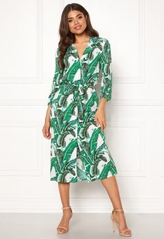 OBJECT Palmina 3/4 Long Dress Gardenia Bubbleroom.se
