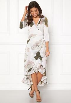 OBJECT Pantheon 3/4 Maxi Dress Gardenia Bubbleroom.se