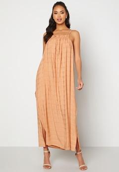OBJECT Rafia S/L Dress Shrimp Bubbleroom.se