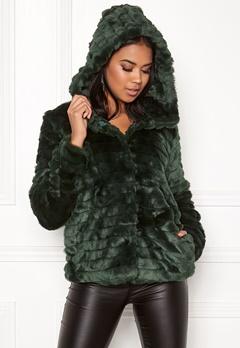 OBJECT Sandie Faux Fur Jacket Pine Grove Bubbleroom.se