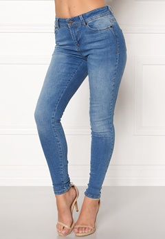 OBJECT Sarah Skinny Jeans Medium Blue Denim Bubbleroom.fi