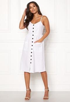 OBJECT Sarina Singlet Dress White Bubbleroom.se