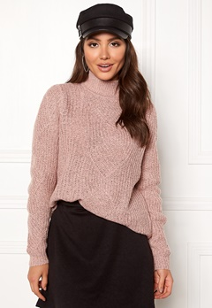 OBJECT Shiloh L/S Knit Pullover Violet Ice Bubbleroom.se