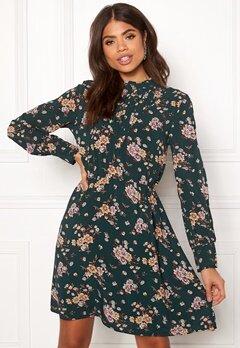 OBJECT Simone L/S Dress Pine Grove Bubbleroom.se