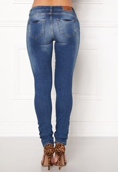 OBJECT Sally Skinny Jeans Medium Blue Denim Bubbleroom.no