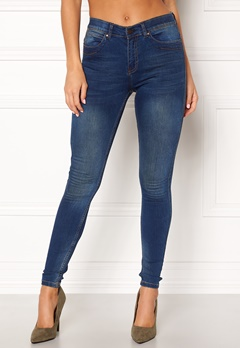 OBJECT Skinny Sophie Dark Blue Denim Bubbleroom.fi