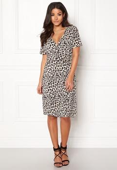 OBJECT Spencer S/S Dress Oatmeal Bubbleroom.se