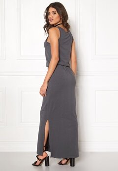OBJECT Stephanie Maxi Dress Asphalt Bubbleroom.fi