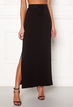 OBJECT Stephanie Maxi Skirt Black Bubbleroom.se