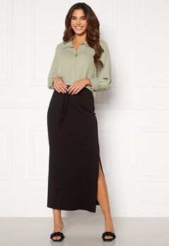 OBJECT Stephanie Maxi Skirt Black Bubbleroom.se