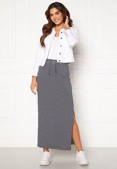 OBJECT Stephanie Maxi Skirt White Stripes Sky Ca Bubbleroom.se