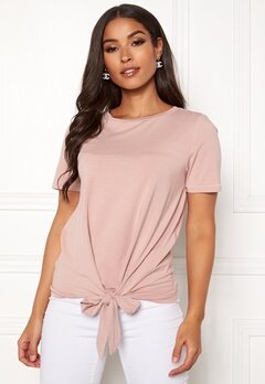 OBJECT Stephanie Maxwell S/S Top Adobe Rose Bubbleroom.se