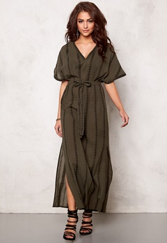 OBJECT Tennessee Maxi Dress Forest Night Bubbleroom.no