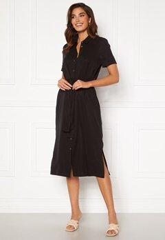 OBJECT Tilda Isabella S/S Dress Black Bubbleroom.se