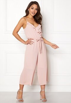 OBJECT Tribbiani S/L Jumpsuit Hushed Violet Bubbleroom.se