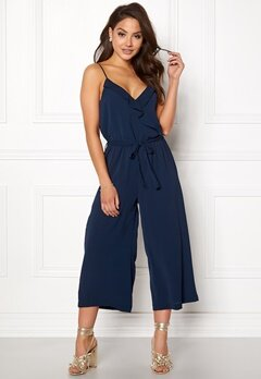 OBJECT Tribbiani S/L Jumpsuit Mood Indigo Bubbleroom.se
