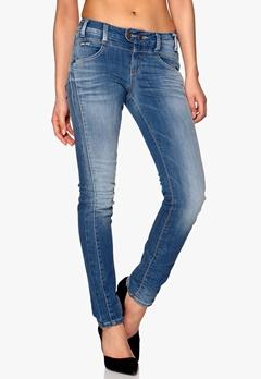 OBJECT Up-c slim jeans Medium Blue Denim Bubbleroom.fi