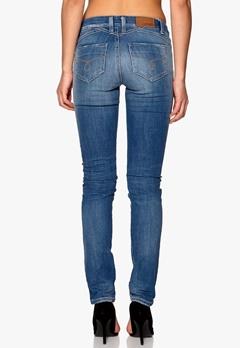 OBJECT Up-c slim jeans Medium Blue Denim Bubbleroom.no