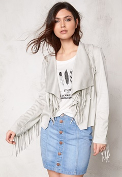 OBJECT Vanda Short Blazer Egret Bubbleroom.no