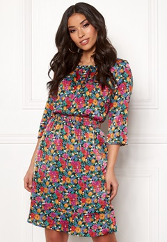 OBJECT Violetta 3/4 Dress Maize Bubbleroom.se