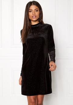 OBJECT Zobia L/S Dress Black Bubbleroom.se