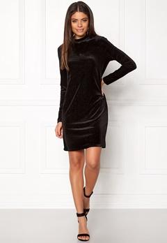 OBJECT Zobia L/S Dress Black Bubbleroom.no