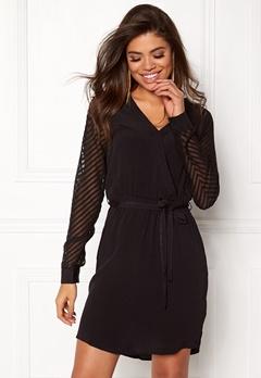 OBJECT Zoe L/S Dress Black Bubbleroom.se