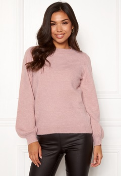 OBJECT Eve Nonsia Knit Pullover Adobe Rose/Melange Bubbleroom.se