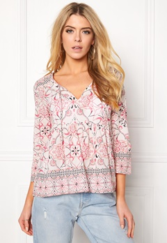 Odd Molly Backbone L/S Blouse Desert Rose Bubbleroom.no
