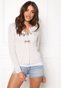 Odd Molly Canal Cardigan Light Chalk Bubbleroom.se