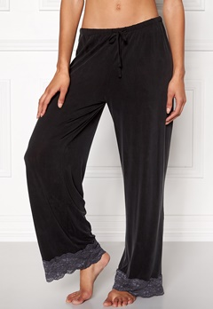 Odd Molly Cherry Pants Almost Black Bubbleroom.no