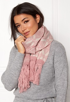 Odd Molly Fling Scarf Pink Powder Bubbleroom.eu