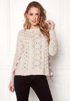 Odd Molly Flurry Sweater Chalk Bubbleroom.dk