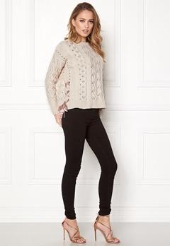 Odd Molly Flurry Sweater Chalk Bubbleroom.se