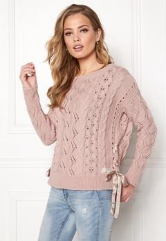 Odd Molly Flurry Sweater Peach Powder Bubbleroom.se