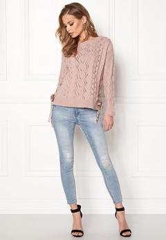 Odd Molly Flurry Sweater Peach Powder Bubbleroom.dk