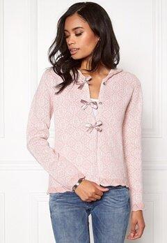 Odd Molly Le Knit Cardigan Milky pink Bubbleroom.no